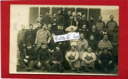 HOPITAL MILITAIRE GUERRE 1914 1918 GROUPE DE BLESSES ET INFIRMIERE RELIGIEUSE CARTE PHOTO ARGENTIQUE - Guerre 1914-18