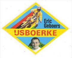 AUTOCOLLANT  STICKER  MOTOCROSS ERIC GEBOERS  IJSBOERKE - Aufkleber
