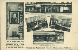 75002 Rue Montmartre Restaurant Chope Du Croissant - District 02