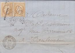 LAC -   GC 2452 -  MONTESQUIEU-VOLVESTRE  ( 30 )   HAUTE-GARONNE   -LOT 12137 -CACHET TYPE 15 - Marcophilie (Lettres)