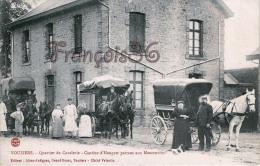 (08)  Vouziers - Quartier De Cavalerie - Cantine D'Hangest Partant Aux Manoeuvres - En EXCELLENT état - Vouziers