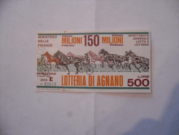 BIGLIETTO DELLA LOTTERIA DI AGNANO - Lottery Tickets