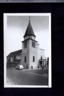 CP (78) Carrière Sur Seine  -  L'église  -  Voiture : Peugeot 403 Break - Carrières-sur-Seine