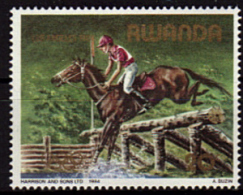 RWANDA   N °  1149    * *   JO 1984  Cheval  Hippisme - Horses