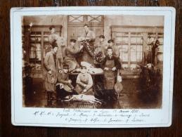 ECOLE VETERINAIRE DE LYON 2° ANNEE 1886 - Old (before 1900)