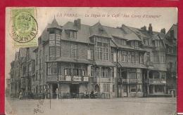 BR-6347  ADINKERKE      >  PARIS    Scan 2 LA PANNE   LA DIGUE ET CAFE AUX CAVES D ESPAGNE - 1893-1907 Coat Of Arms