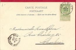 BR-6393  BEAUMONT     >     CHARLEROI STATION     Scan 2   ENVIRONS DE CHIMAY-LAC DE VIRELLES - 1893-1907 Coat Of Arms