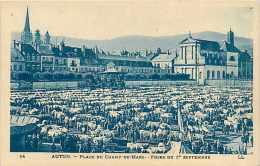 Mai14 64: Autun  -  Foire Place Du Champ De Mars - Autun