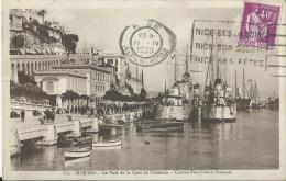 44Ri    Monaco Le Port Et Quai De Plaisance Contre Torpilleurs Français - Harbor