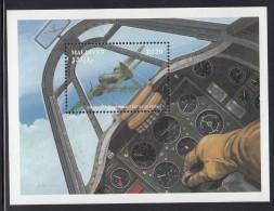 Maldives MNH Scott #1515 Souvenir Sheet 20r Battle Of Britain, 50th Anniversary - Maldives (1965-...)