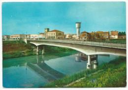 Castelguglielmo - Ponte Sul Canal Bianco E Panorama - H1800 - Rovigo