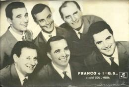 FRANCO E I G5 Cartolina Dischi Columbia - Foto