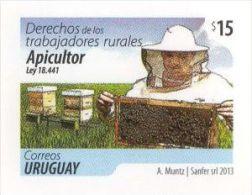 Uruguay 2013 **  Derechos De Los Trabajadores Rurales LEY Nº 18.441. El Apicultor. - Agricoltura