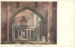 Eton College Ante-Chapel 1816, Berkshire Postcard - England