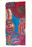 Mangkaja Artists, Rebecca Hossack Gallery, London  LARGE Postcard - Peintures & Tableaux