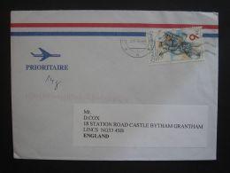 Czech Republic 2004 Commercial Cover To England Nice Stamp Cycling - Briefe U. Dokumente