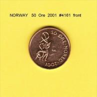 NORWAY   50  ORE  2001  (KM # 460) - Norway