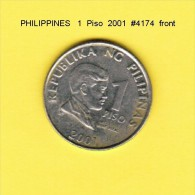 PHILIPPINES   1  PISO  2001  (KM # 269) - Philippines