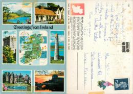 Ireland Postcard Used Posted To UK 1990 Gb Stamp - Other
