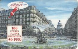 Global Line - Paris Pantheon - Frankreich