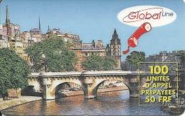 Global Line - Brücke In Altstadt - Frankreich