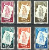 ESPAÑA 1956 - Edifil #1200/05 - MNH ** - 1951-60 Nuevos & Fijasellos