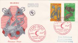 MAROC : Semaine Internationale Du Croissant Rouge, Le 15 Mai 1967 - Marokko (1956-...)