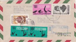 MEXIQUE : Lettre 17 X 9 Cms. - 1968 - à Destination De Prilly - Mexique