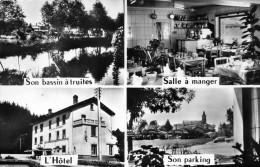 63-VOLLORE-MONTAGNE...HOTEL DE TOURISTES...4 VUES... CPSM PETIT FORMAT - France