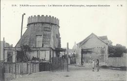 75 - PARIS - Montmartre - La Maison D'un Philosophe, Impasse Girardon - Distrito: 18