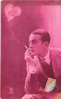 Réf : TO-14-620 :  Surréalisme Le Coeur Dans La Fumée Avec Femme - Juegos Y Juguetes