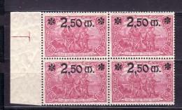 D.-Reich Nr. 4x  118 **   (f7607   ) Siehe Scan  ! - Deutschland