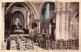 -24- PAUSSAC ST VIVIEN - Intérieur De L'Eglise - France