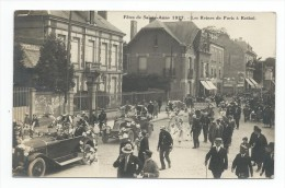 08 - RETHEL - (A.) - Fêtes De Sainte-Anne 1927 - Les Reines De Paris à Rethel - CARTE-PHOTO - Rethel