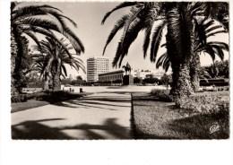 C P S M---MAROC---CASABLANCA---les Jardins De La Place Lyautey----voir 2 Scans - Casablanca