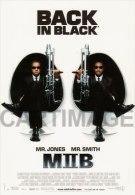 MEN IN BLACK II   Carte Postale N° C 1350  SONIS éditée En 2002 Will SMITH  Tommy LEE JONES - Manifesti Su Carta