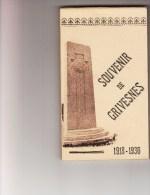 CARNET SOUVENIR DE GRIVESNES / MERY LA BATAILLE / MONTDIDIER - CORTEGE DES A.C DES 125e ET 325e - 21 Juin 1936 - Non Classés
