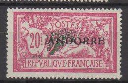 "Andorre  N° 23 Luxe ** Signé "" Calves "" . - Andorre Français"