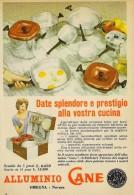 # ALLUMINIO CANE PENTOLE 1950s Advert Pubblicità Publicitè Reklame Pot Pots Ollas Topfe Household Casa Menage - Manifesti