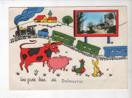 Dolmayrac, Une Grosse Bise De... - Ed FL - Vierge - Autres Communes