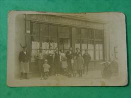 RHONE-CARTE PHOTO CAFE DU VIADUC F.LACHAL A LOCALISER OU TARARE OU LYON RUE TRAMASSAC-ANIMEE - Tarare