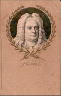 ! 1907 Postcard Georg Friedrich Händel, Serie Altmeister Der Musik, Music, Musique, Verlag Meissner & Buch, Leipzig - Musique Et Musiciens
