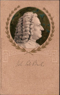 ! 1907 Postcard Johann Sebastian Bach, Serie Altmeister Der Musik, Music, Composer, Verlag Meissner & Buch, Leipzig - Cantanti E Musicisti
