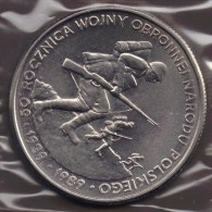 POLAND 500 ZLOTYCH 1989 WWII KM# 185 - Polen