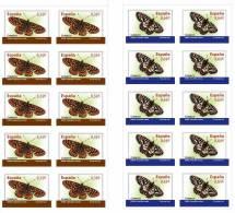 ESPAÑA 2010 - FAUNA MARIPOSAS - 2 MINI HOJAS (Euphydryas Aurinia Y Zerynthia Rumina) Edifil 4534 Y 4536 - 2001-10 Unused Stamps