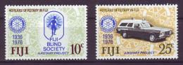 Fiji, 1976 - Rotary - Nr.365/366 MNH** - Fiji (1970-...)