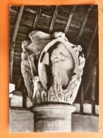 V09-71-B-saone Et Loire-cluny-ancienne Eglise  Chapiteau Des Saisons-vertus-sciences-la Grammaire-carte Photo- - Cluny