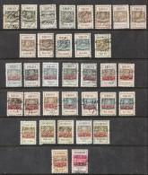 Portugal Fiscaux (Revenues) Avec Hautes Valeurs - Used Stamps