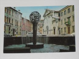 TREVISO - Piazza Sant' Andrea - Fontana - Auto - Treviso