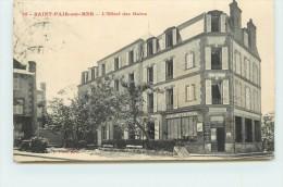 SAINT PAIR SUR MER  - L'Hôtel Des Bains. - Saint Pair Sur Mer
